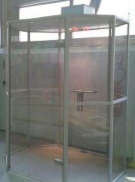 photo SYCLOP - Aménagement d'un espace pour fumeurs à la RATP AMT de Saint-Denis