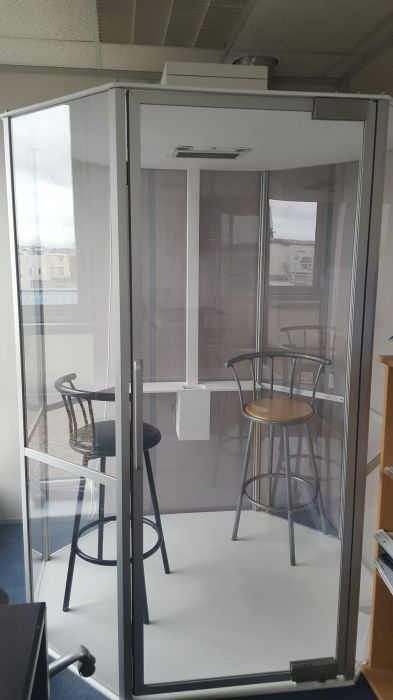photo SYCLOP - Occasion vente cabine fumeurs SYCLOP 3