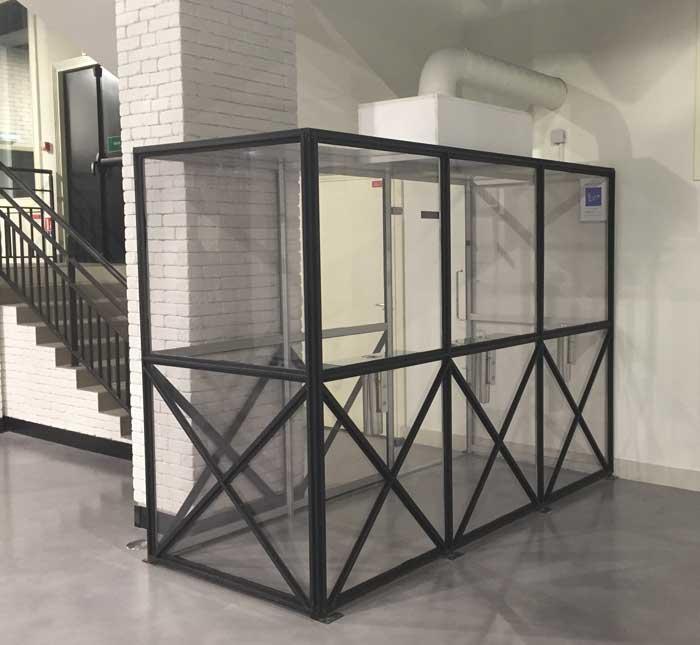 photo SYCLOP - La salle Le tripot Régnier intègre dès sa conception un fumoir SYCLOP